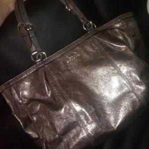 Coach metallic purse